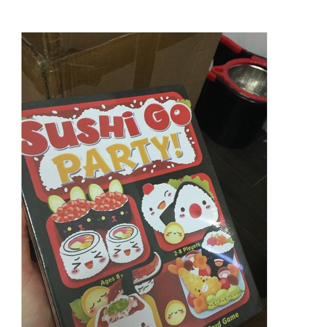 Sushi Go Party (damaged box)*