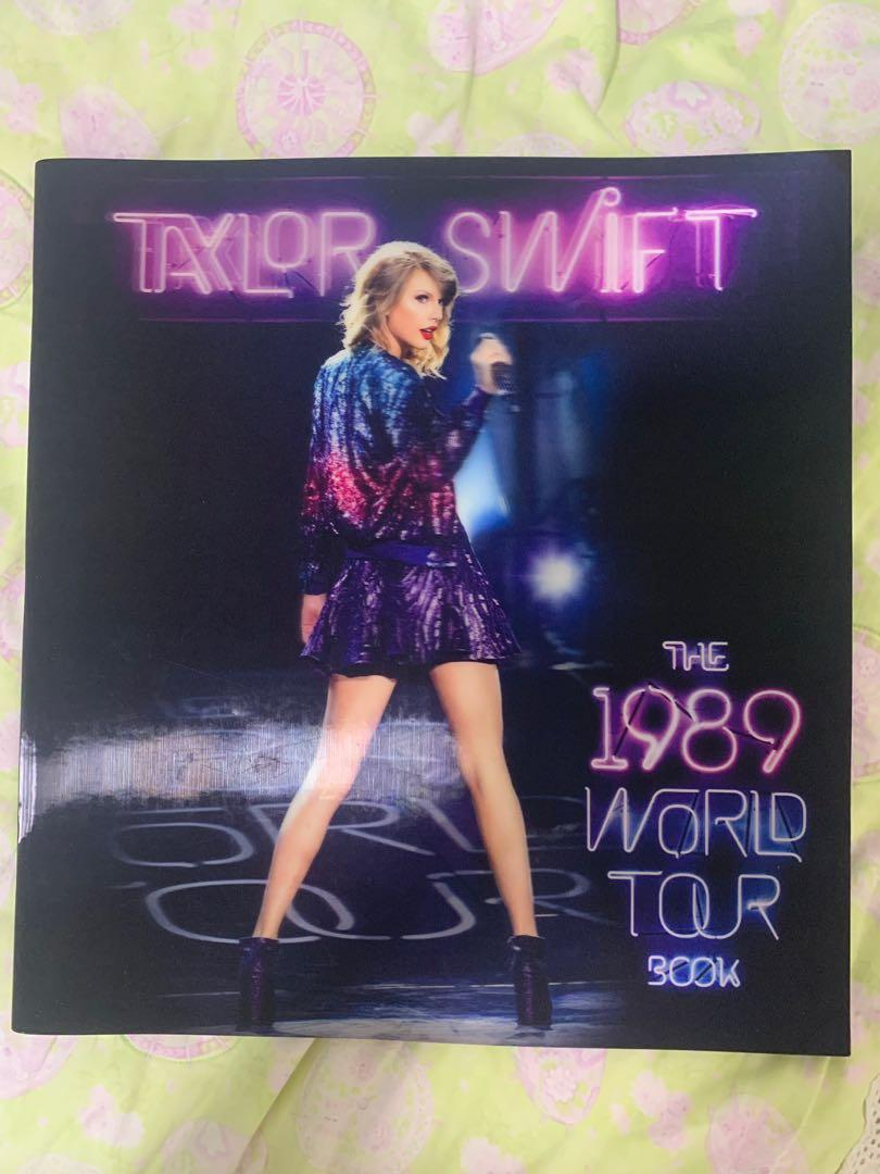 Taylor Swift 1989 Tour Book Music Media Cds Dvds Other Media On Carousell