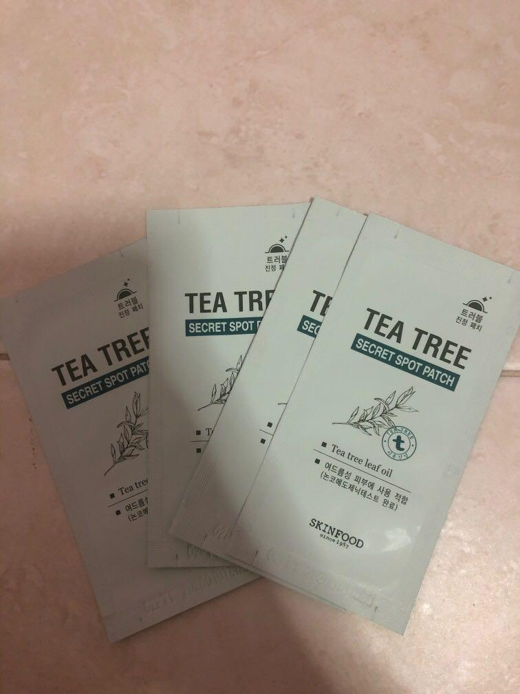 SKINFOOD Tea tree acne spot patch