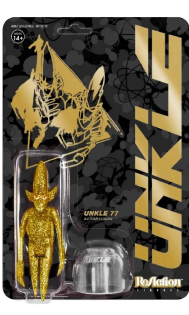 Unkle Reaction Figure-Pointman(Gold)