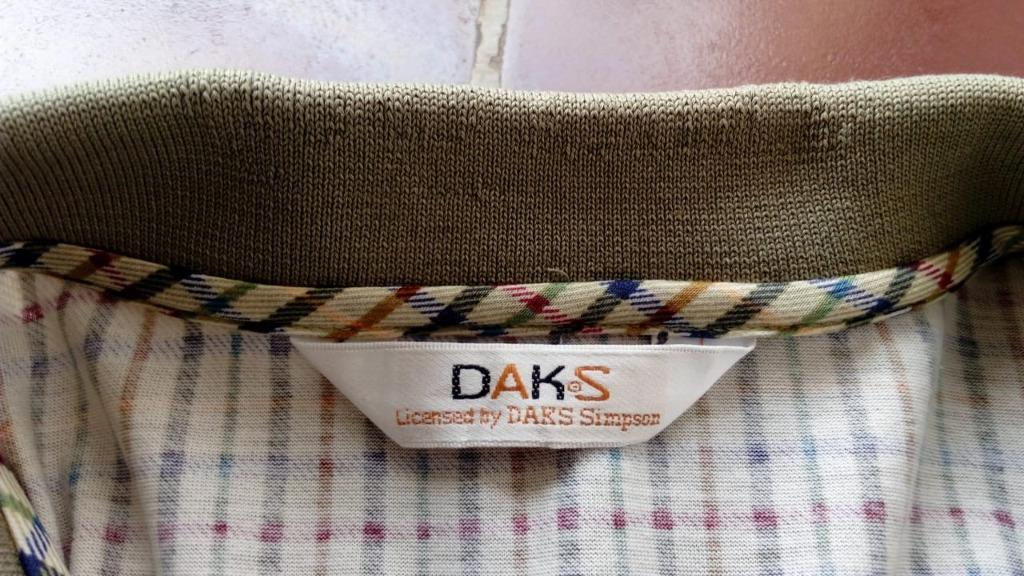 Vtg Polo Shirt DAKS London