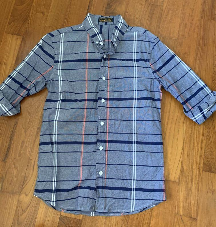 Worn once recoil shirt for men