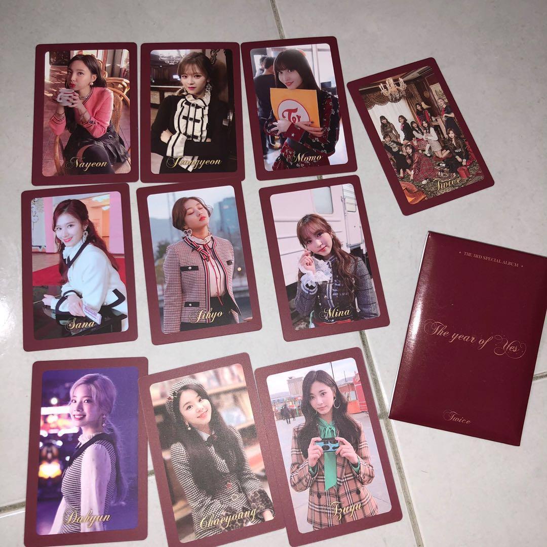 WTB Twice Preorder Photocard