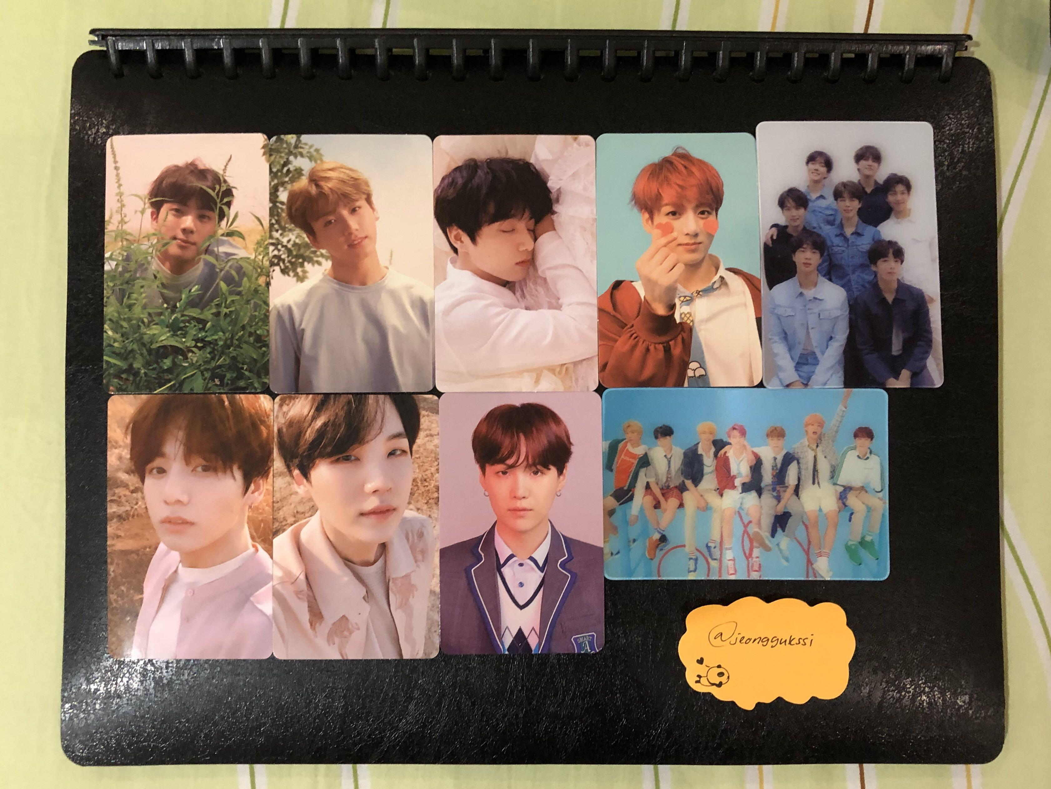 [WTS] BTS Official Photocards/PC