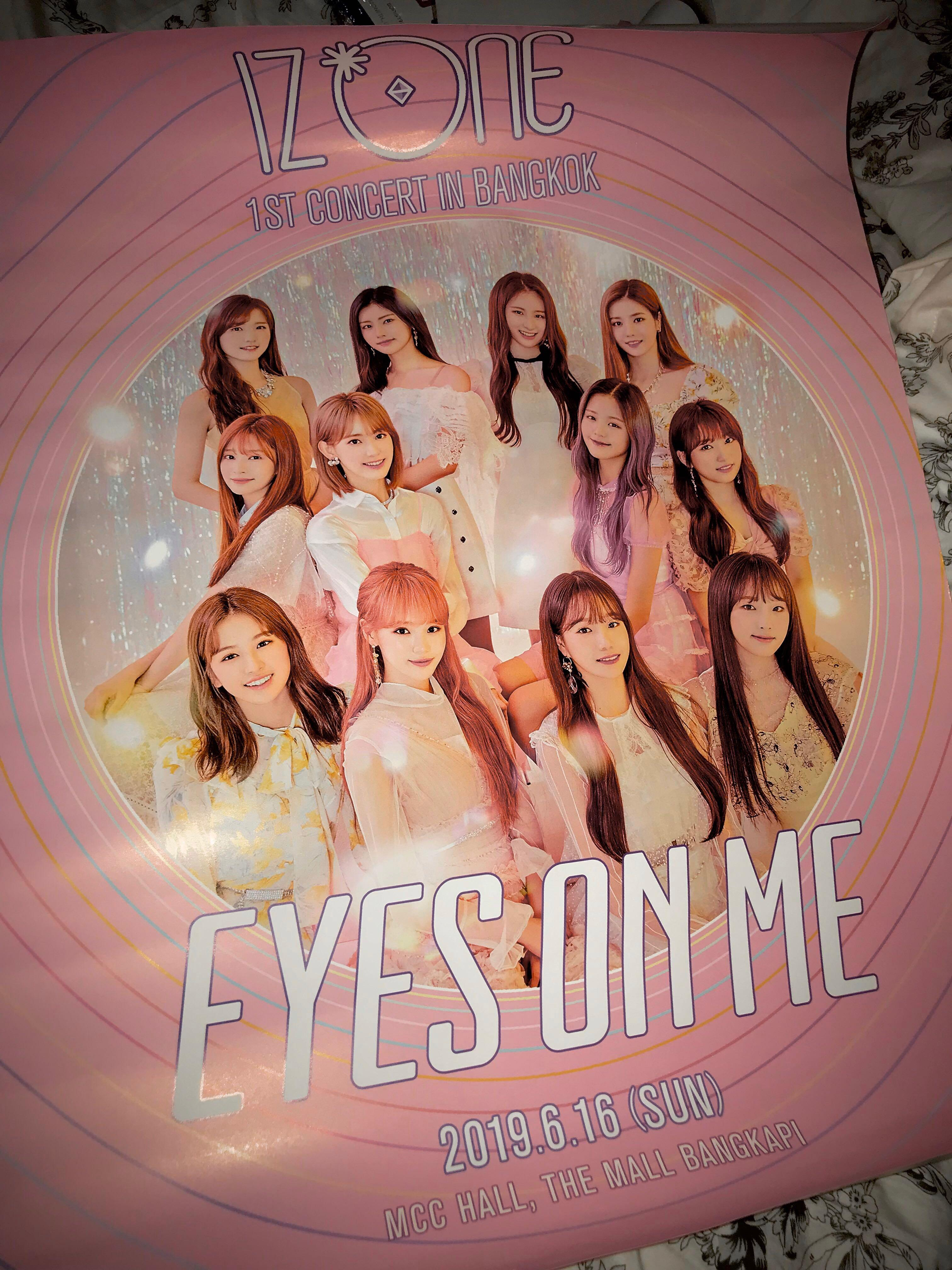 [WTS] IZ*ONE Eyes On Me Bangkok Poster