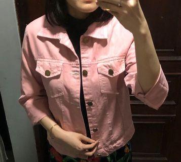 Jaket Pink Jeans #1010flazz