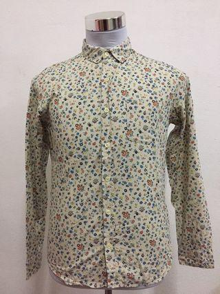 Floral shirt long sleeve