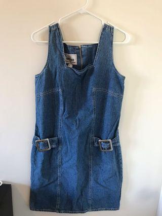 Vintage Denim Dress - Size 8/10 - #SwapCA