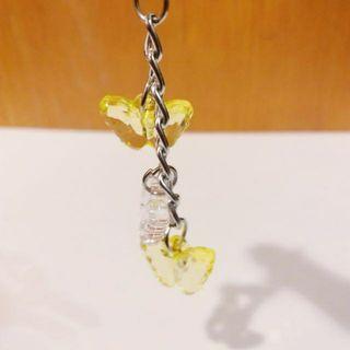 蝴蝶手機吊飾 | 包包吊飾 | 鑰匙圈