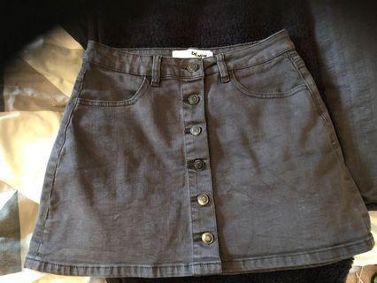 Supre button skirt