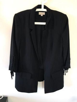 LOFT Tie Sleeve Blazer - Size 6 - #SwapCA