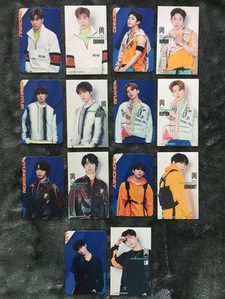 MONSTA X  PHENOMENON JAPAN PHOTOCARD STICKER SET
