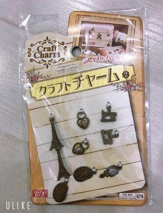 Daiso Craft Charm  大創工藝小飾物