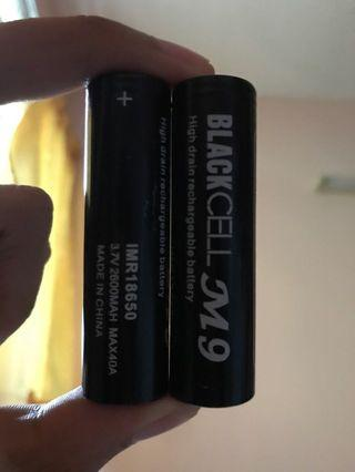 BlackCell M9  IMR18650 for Vape
