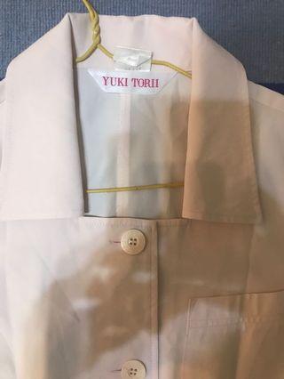 Yuki torii short sleeve shift dress