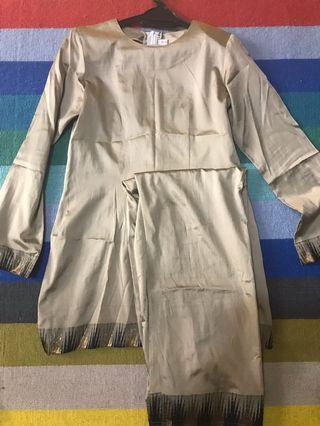 Saree silk kurung