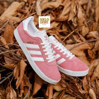 ADIDAS GAZELLE PEACH WHITE ORIGINAL