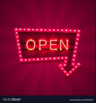 We are open ✅