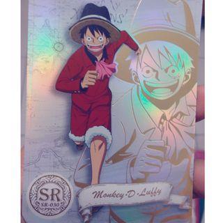 航海王 海賊王 SR30 閃卡 收藏卡 珍藏卡 卡 卡片 卡牌