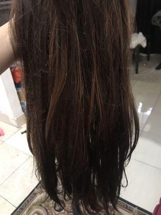 hair wig / rambut palsu