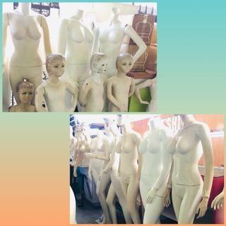Female Fullbody n Headless Mannequin ( Unit )