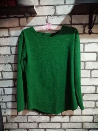 Green Top 💕 #1010