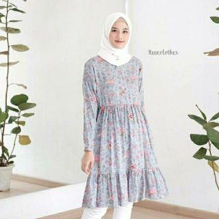 Tunik Rury blue M by 9teenclothes (new)