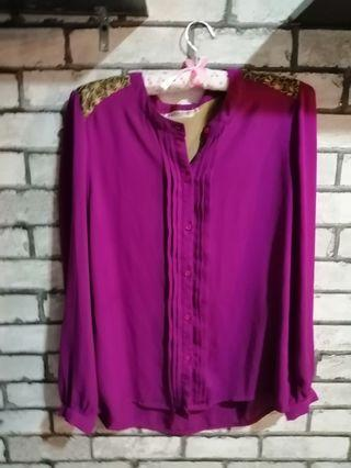 Jasmina Purple Blouse 💕