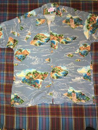 Hawaiian shirt 100rayon