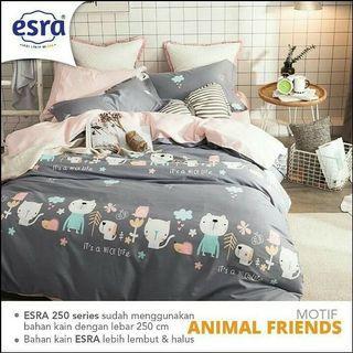 Sprei set / Bedcover set untuk anak Motif karakter