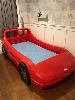 Little tikes bed cars ranjang anak (harga beli 12jt)