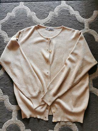 Golden knit Cardigan