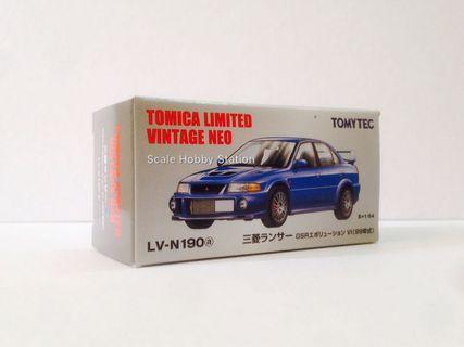 Tomica Limited Vintage NEO Lancer GSR Evolution VI (Blue)