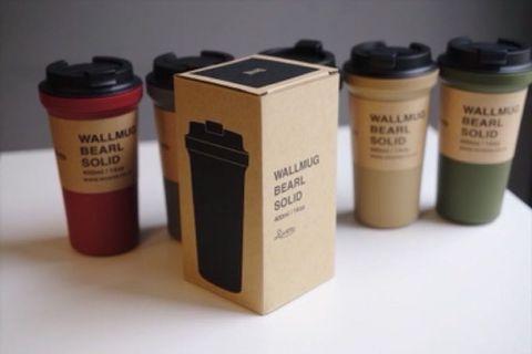 Rivers bearl 隨身咖啡杯 防燙茶杯 日式随行杯子 方便攜帶 400ml