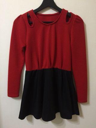 紅色小洋裝#五折清衣櫃
