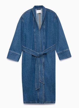 Aritzia Wilfred Free Colpa Jacket - Medium Indigo - Size 1
