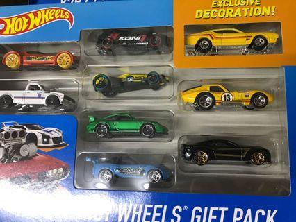 Hotwheels 9 car pack