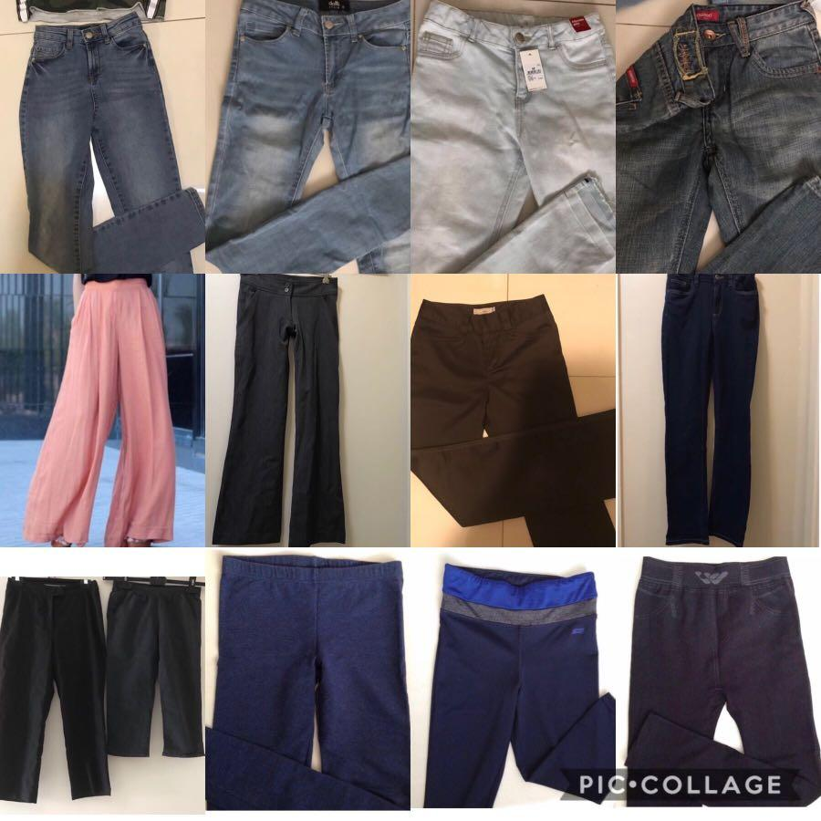 13 Jeans, pants, trousers, leggings, tights for $50!
