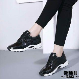 Real picture Gt@CHANEL Transparant  Sneakers Shoes f2383 #cL  IDR 300K NET