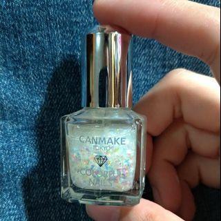CANMAKE 晶燦指甲油 #100 日本期間限定色