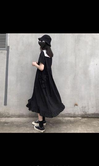 日系寬鬆洋裝