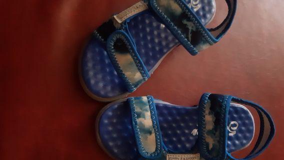 Sepatu sendal anak led unisex