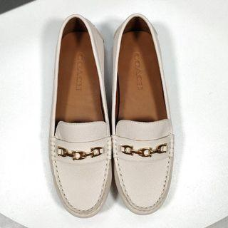 Authentic coach ladies loafer