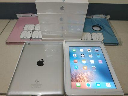 Apple IPAD 2 NEW 9.7inch Cash on delivery  brand new no scratches, give a leather case, protect the sticker, stock good 全新無刮痕 贈送 保護貼 福利機