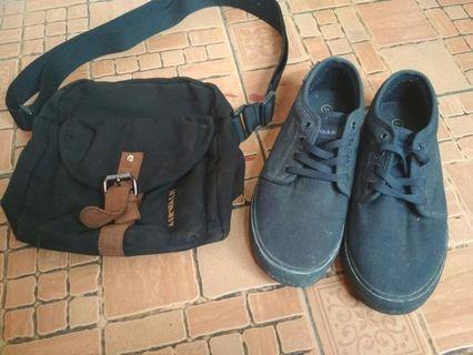 Airwalk Sepatu Dan Slingbag
