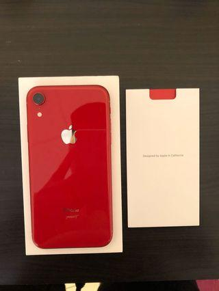 Iphone Xr 128gb product (Red)