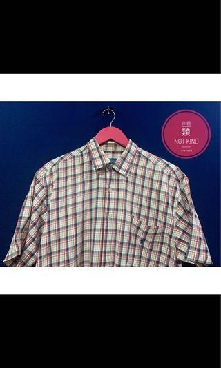 POLO小藍標格紋襯衫
