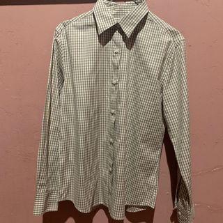 Uniqlo Plaid Shirt / Kemeja Kotak Cokelat