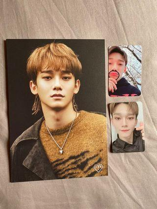 Chen ACE Photocard + Postcard Set