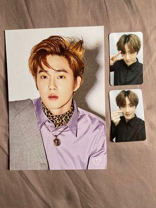 Suho ACE Photocard + Postcard Set